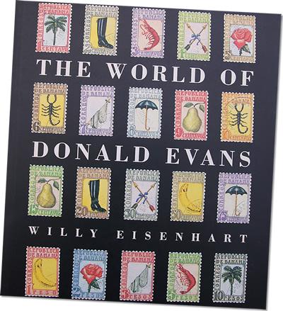 donald evans stamp art book