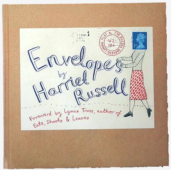 Harriet Russell Envelopes books
