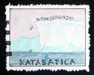 Katabatica Stamp Art Bruce Bowden