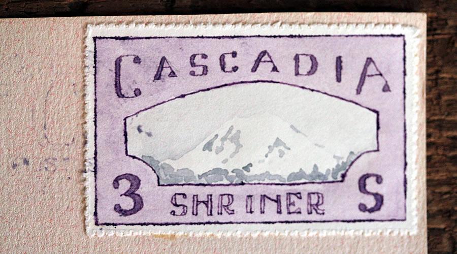cascadia mount rainier stamp bruce bowden
