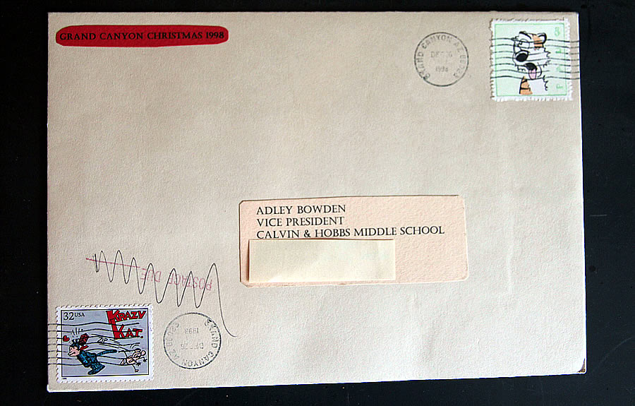 hobbs-pau envelope bruce bowden stamps