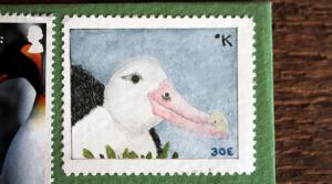 katabatica albatross stamp bruce bowden