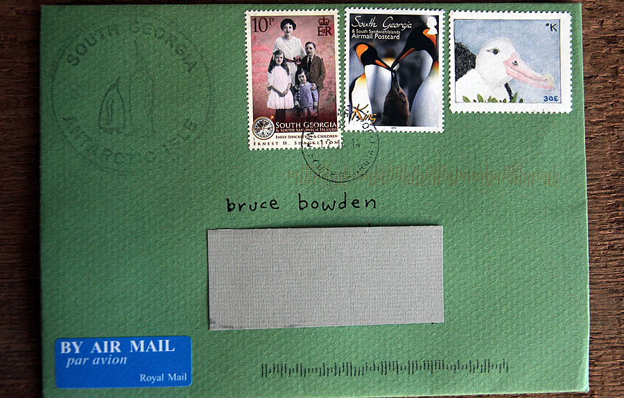 katabatica albatross stamp bruce bowden stamps