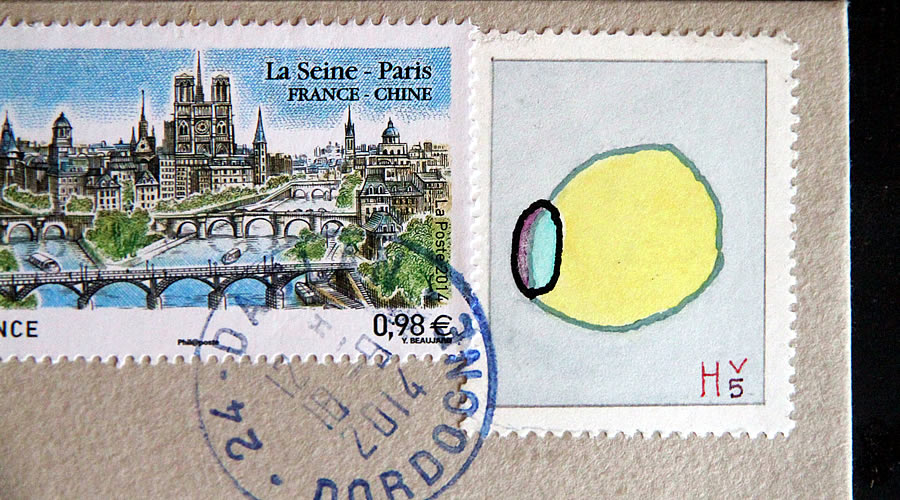 Lemon in Hv by Bruce Bowden stamps