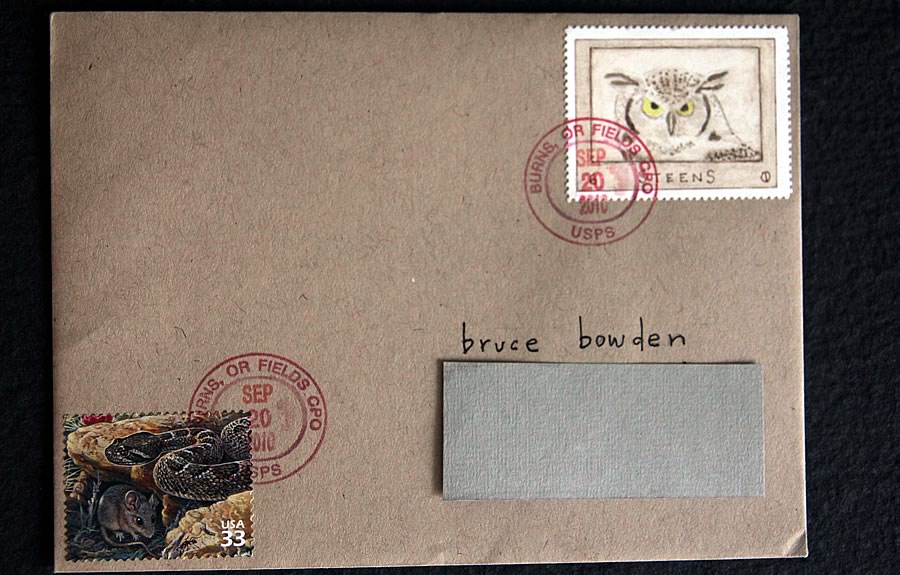 hoot owl from steens bruce bowden stamps