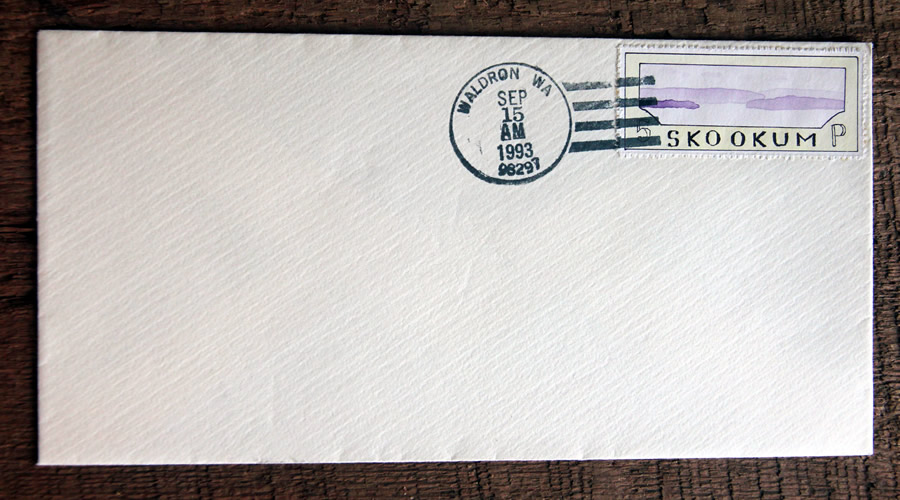 bruce bowden skookum island art stamps
